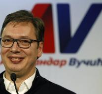 Premier Serbia elected president