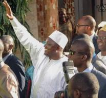 President Barrow back in Gambia