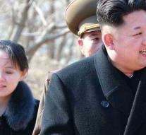 President South Korea is going to have lunch with sister Kim Jong-un