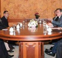 President South Korea receives sister Kim Jong-un