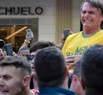 Presidential candidate Brazil from hospital