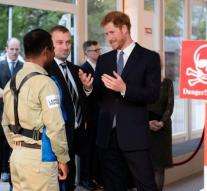 Prince Harry in the footsteps of mother Diana