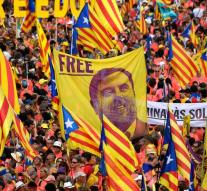 Process against separatists Catalonia on hands