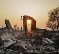 Progress in Combating Californian Fire
