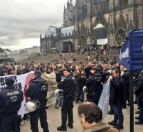 Protest in Cologne against mass rape