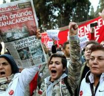 Protest marches against Turkey arrests