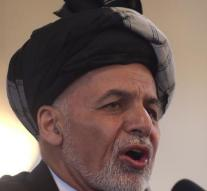 Protesters Afghanistan demand resignation government