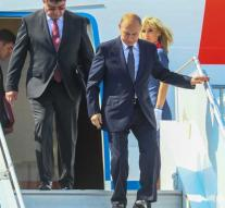 Putin arrived in Helsinki