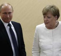 Putin for discussion with Merkel