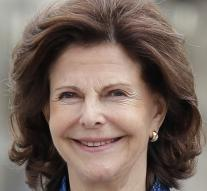 Queen Silvia back home