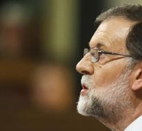Rajoy does not talk about independence