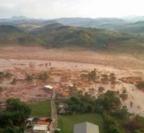 Ravage by dam disaster in Brazil