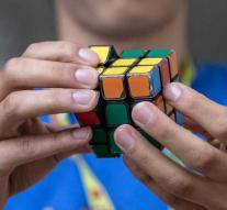 Record: Rubik's cube dissolved in 4.2 seconds