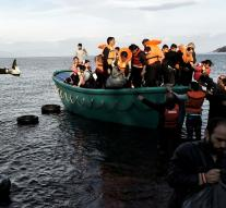 Refugees drown in Aegean Sea