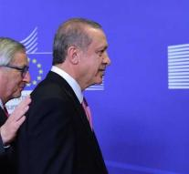 Relationship EU and Turkey just before top on top