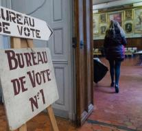 Relatively high turnout in French election