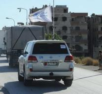 Relief supplies reach Syrian cities
