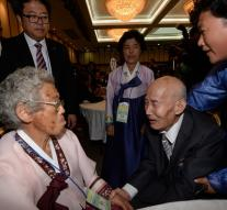 Reunification elderly Koreans is short : ' See you in hereafter '