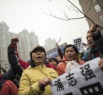 Riots in Chinese activist lawsuit