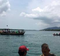 Rohingya arrived by boat in Thailand