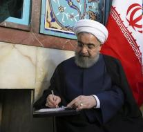 Rouhani has a headline in elections in Iran