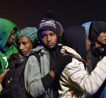 Run in a row for minors in Calais