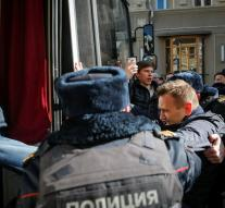 Russian police arrested opposition leader