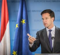 Rutte : EU must keep appointments