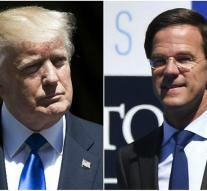 Rutte expects no lesson from Trump