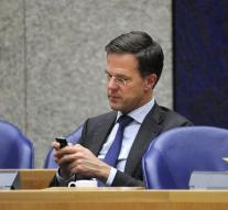 Rutte online most discussed