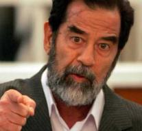 Saddam Hussein pops up on London's bench