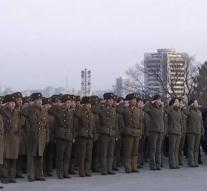 'Secret' military parade North Korea