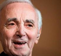 Singer Aznavour became unwell in Russia