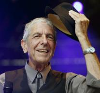 Singer Leonard Cohen was mainly poet