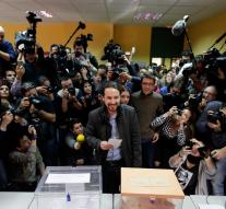 Slightly higher turnout in Spanish elections