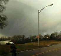 Southeast US hit series of tornados