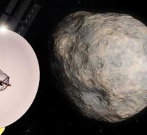 Space rock gets name for probe visit