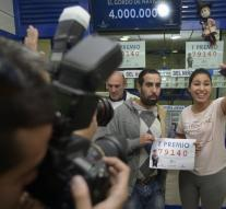 Spanish jackpot falls in poor regions