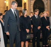 Spanish king mourns after flood disaster Mallorca