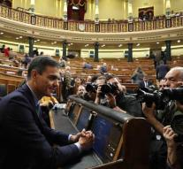 Spanish lower house shoots budget