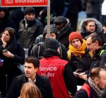 'Stopping German train traffic was exaggerated'