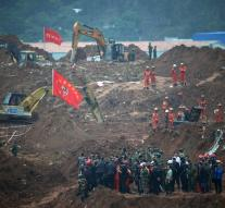 Suicide after fatal landslide China
