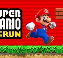 Super Mario Run downloaded 40 million times