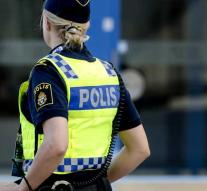 Suspected robbery Swedish crowns arrested