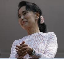 Suu Kyi's party has an absolute majority