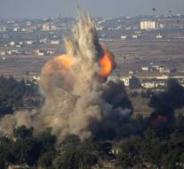 Syria reports Israeli air strike