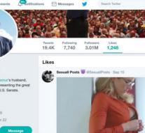 Ted Cruz likes porn on Twitter and goes viral