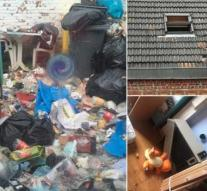 Tenants from hell demolish house