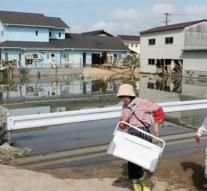 Tens of thousands of houses Japan without water