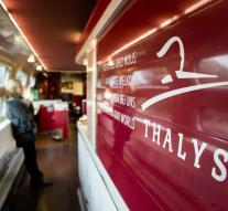 Thalys passengers must report earlier